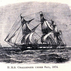 The HMS Challenger.