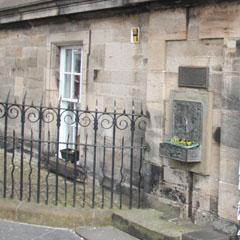 Old Edinburgh cistern