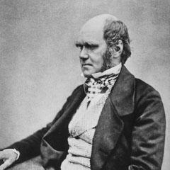 Charles Darwin (1809–82).