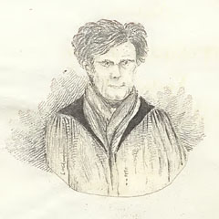 Portrait of Robert Jameson (1774–1854) by one of his students, c.1831.