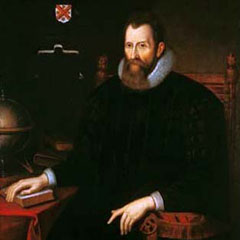 Portrait of John Napier, 1616.
