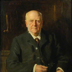 Portrait of Sir Archibald Geikie (1835-1924), 1913.