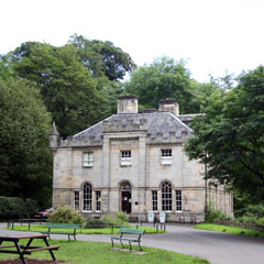 Charles Glover Barkla's house.