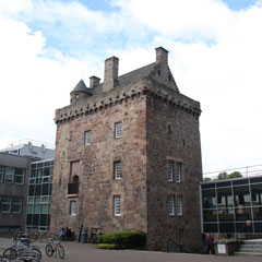 Merchiston Castle.