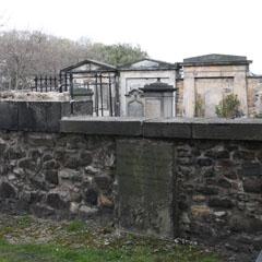 John Walker's grave.