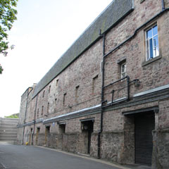 Former Waterson's sealing wax factory.