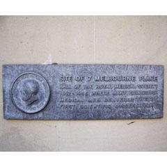 Royal Medical Society of Edinburgh plaque.