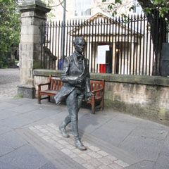 Statue of James Fergusson.