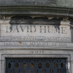 Inscription on the tomb of David Hume.