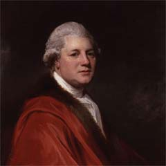 Portrait of James Macpherson (1736–96) by George Romney.