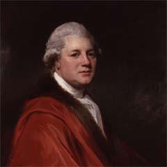 Portrait of James Macpherson (1736–96) by George Romney.