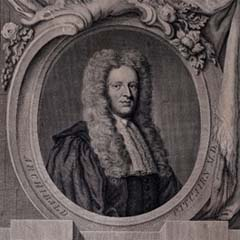 Portrait of Archibald Pitcairnce (1652-1713) by Rob Stranae.