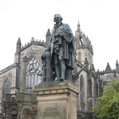 Statue of Adam Smith