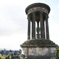 Dugald Stewart monument.