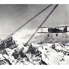 Duke of Hamilton's flight over Everest, 1933.