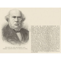 Dr John MacPherson, Calcutta doctor.