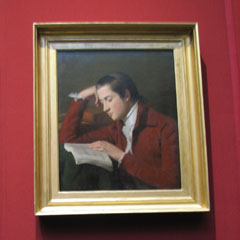 Portrait of Patrick Moir in the National Gallery.
