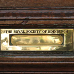 Letterbox of Royal Society.