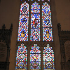 The George Swinton Memorial Window.