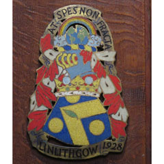Marquess of Linlithgow's Coat of Arms.