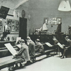 The Art Room before the First World War.
