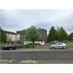Image of Granton Sqaure today, a non-descript assortment of buildings