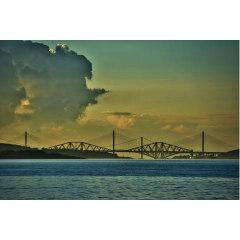 Three bridges built in three centuries