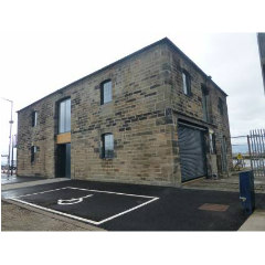 The Gun Powder building, now restored