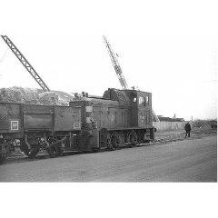 Esparto grass train at Granton