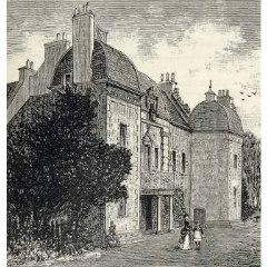 Engraving of Caroline Park