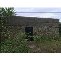 Photograph of the exterior of Granton Castle's Walled Garden