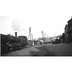 Ex-NBR J88 0-6-0T No. 68340 at Granton, 2 September 1955