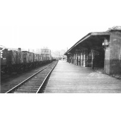 Ex- North British Railway Granton Railway Station (closed 1925) (Collection of W D Yuill)