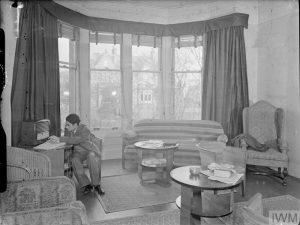 Students at Hope Terrace, Edinburgh, Scotland, 1942