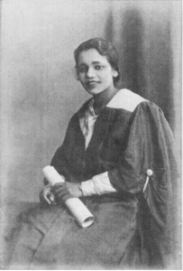 Kesaveloo Goonam graduated from Edinburgh in 1936.