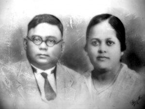 Jung Bahadur Singh and Alice Bhagwandy Singh