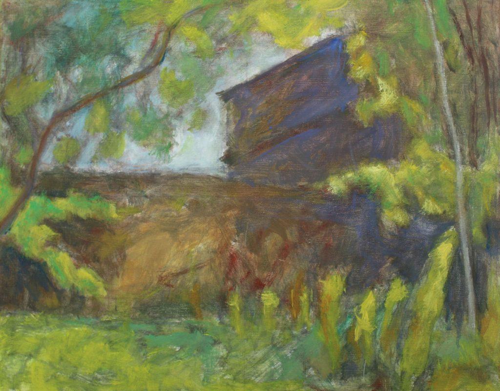 The walled garden by Harry Mafuji