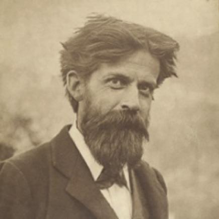 Patrick Geddes in Lasswade (© The University of Edinburgh)