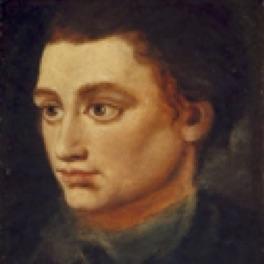 Portrait of Robert Fergusson by Alexander Runciman, about 1772. (National Galleries Scotland)