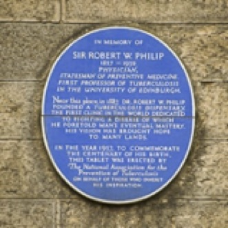 Plaque for Sir Robert Philip